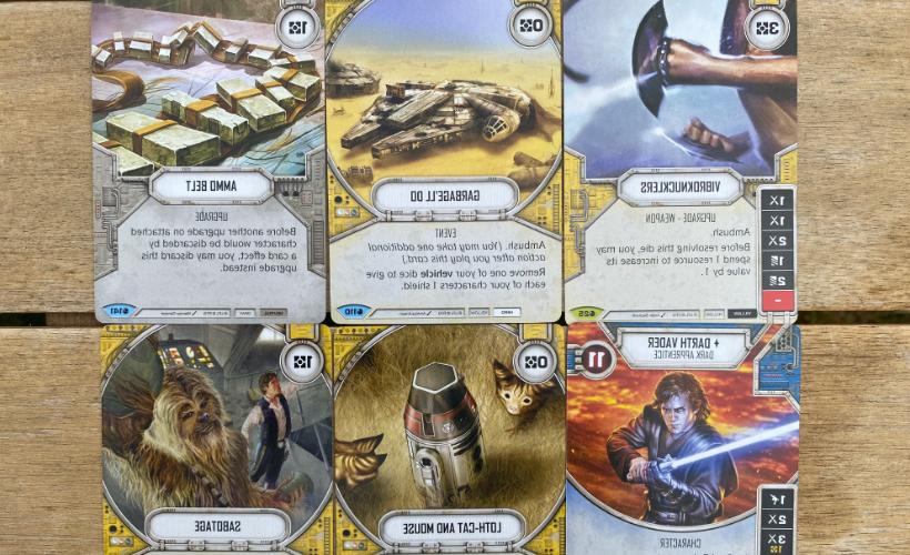 Star Wars Destiny Spirit of the Rebellion Body 1