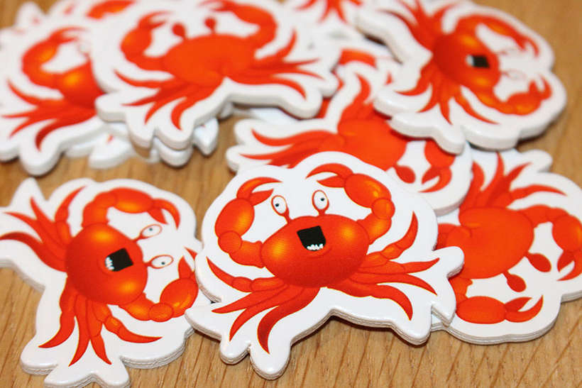 Vous avez Revue des crabes - Les crabes